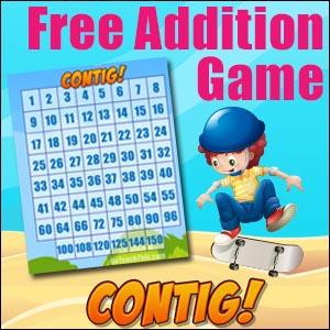 Free Printable Math Game