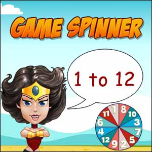 Game Spinner 1 to 12