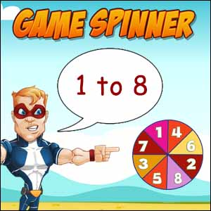 math game spinner