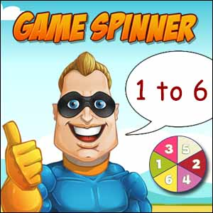 online game spinner 1 to 6