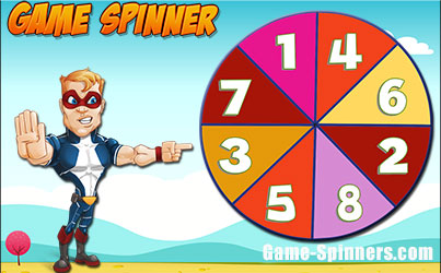 math spinner games